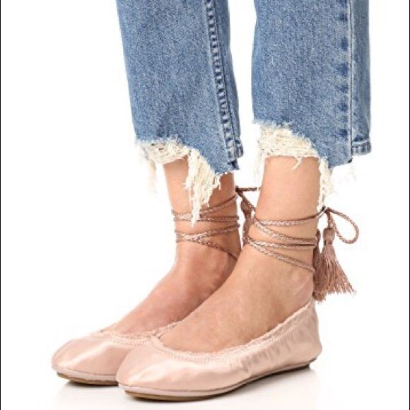best store to get Joie Bandele Satin Flats wholesale price free shipping pay with visa huge surprise for sale eFFIHj7